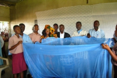 Incecticide Treated Malaria Nets donted to Mozama School