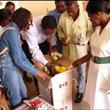 Kay donate meds to Liberian refugees