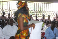Mozano High School Malaria Net Presentation