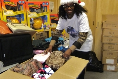 Christmas Donations to Nellie's Women's Shelter in Toronto