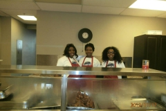 KMF Volunteers ready to serve hot meals to the homeless in Peel Region