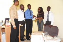 Donation to Korle Bu Hospital HIV Fevers Unit