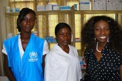 KMF donates medicines to UNHCR Clinic