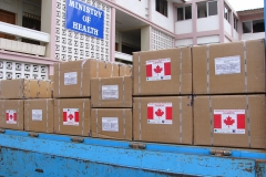 Truck load of Anti-Retrovirals donated to MOH in Ghana