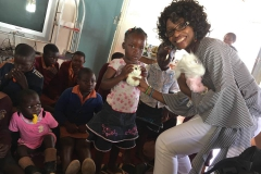 Maningha Village orphans receive toys and clothing