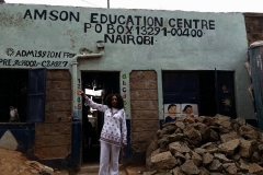 Kay Visits Amson Education Centre
