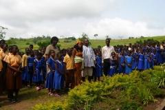 Kay visits Berekuso Primary School - Ghana
