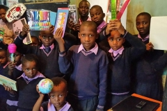 school supplies donated to Amson Education Centre